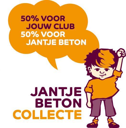 Jantje Beton collecte logo